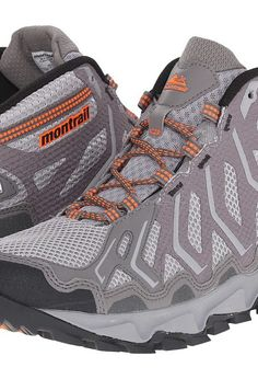 Montrail Trans Alps Mid Outdry (Columbia Grey/Blaze) Men's Shoes - Montrail, Trans Alps Mid Outdry, 1663661, Footwear Closed General, Closed Footwear, Closed Footwear, Footwear, Shoes, Gift, - Fashion Ideas To Inspire