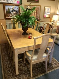 Good Oriental Dining Room Table With 6 Chairs! Love It Again | Home Decor And  Furniture