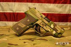 Multicam Pistol