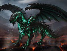 Fiery Dragon by Foxkirin on DeviantArt