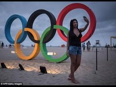 RIO OLYMPICS: Kid Breaks Piece Of Olympic Rings On Live TV