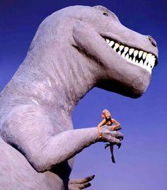"Dauphine de Jerphanion/ ""Mugler's Monster Show"", Elle US, November 91 by Thierry Mugler"