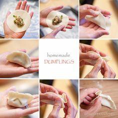 Homemade Chinese Dumplings (jiao zi) - Tiny Urban Kitchen