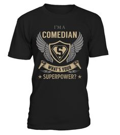 Comedian - What's Your SuperPower #Comedian