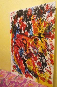 melhor q eu ja fiz Tie Dye Skirt, Painting, Art, Art Background, Painting Art, Kunst, Paintings, Performing Arts, Painted Canvas
