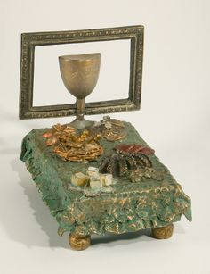 """Canape Lit"" bronze, 10"" x 7.5"" x 9.5""  EXHIBITION BOOK (including bio, artwork descriptions and prices) » https://www.sugarsync.com/pf/D7771278_2178774_6972504"