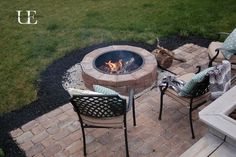 DIY Paver Patio and Fire Pit