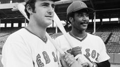 Jim Rice, Fred Lynn and Dwight Evans agree that each star trio have one thing in common: chemistry. Dwight Evans, Jim Rice, Baseball Live, Red Sox Nation, Special Kids, American League, Basketball Jersey, Boston Red Sox, Twins