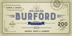 Burford - Webfont & Desktop font « MyFonts