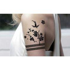 fake tattoo, but nice