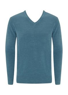 Teal Soft Touch V Neck