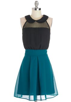 How Do You Deux? Dress. New acquaintances are eager to compliment your twofer dress by Fleet Collection!  #modcloth