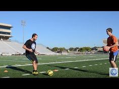 This video breaks down a great first touch drill that all players can do.