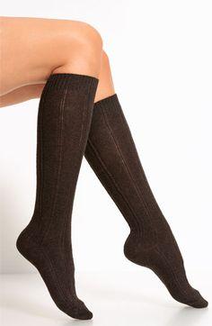 28224bada B.ella Rib Cashmere Blend Knee Socks  B.ella  Socks at Showroom