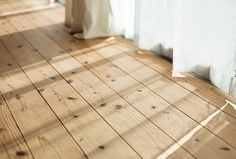 Flooring for the home remodel has been one tough decision for us. I like the look of hardwood flooring and wanted it throughout the . Pine Wood Flooring, Rustic Wood Floors, Farmhouse Flooring, Wide Plank Flooring, Pine Floors, Timber Flooring, Hardwood Floors, Laminate Flooring, Wood Wood