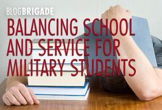 Balancing School and Service for Military Students - MilitaryAvenue.com