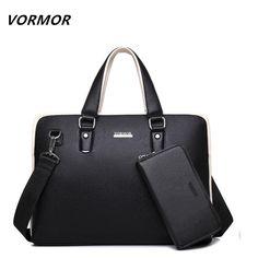 VORMOR PU #Leather #bag Business Men bags #Laptop #Tote #Briefcases #Crossbody bags #Shoulder #Handbag Men's #Messenger Bag #aliseller360