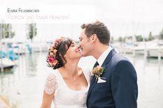 Hochzeit, Babybauch und ganz viel Liebe. Fotografiert von Elmar Feuerbacher