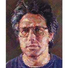 Eric , 1990 oil on canvas 254 x 213.3 cm. (100 x 84 in.)