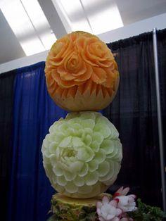 Melon Tower by Yolanda Diaz