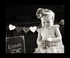 Awesome Valentine's Day photo idea. By Bonnie Raley Photography