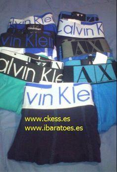 camisetas8@hotmail.com Calzoncillos calvin klein baratos 250 pieza,€2.9/pieza