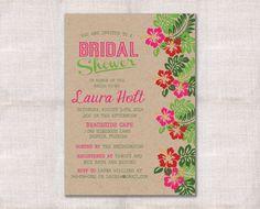 Bridal Shower Invitation Custom Printable 5x7 by DarlinBrandoPress