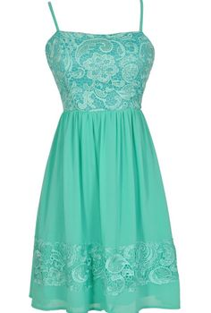 Best Days Ahead Lace and Chiffon Dress in Jade             GREAT WEBSITE FOR DRESSES TO WEAR TO A WEDDING,