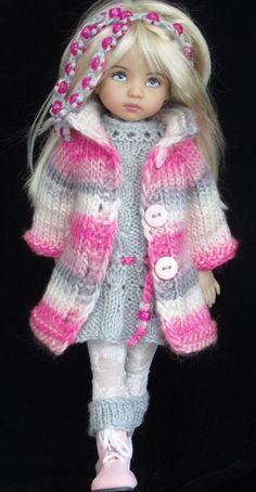 coat and dress and set made for Effner little darling dolls:
