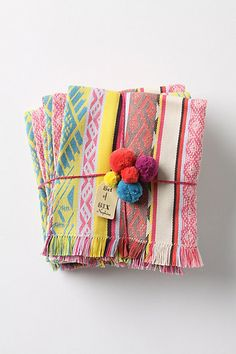 @Ivy Baremore these are called Tulum Napkin Set from #Anthropologie