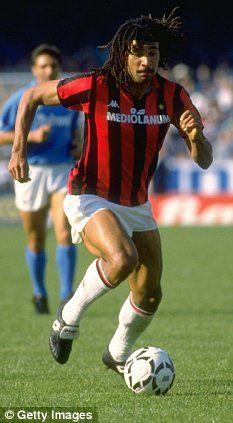 Ruud Gullit - at Milan from 1987 - 1993