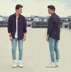 Topman Shirt, Cheap Monday Jeans, Huf Socks, Nike Air Force 1