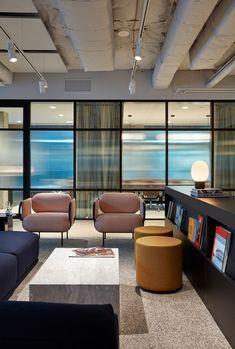 A Look Inside Charter Hall's Brisbane Office Hall Interior, Interior Design Awards, Kitchen Island Finishes, Australian Interior Design, Workplace Design, Milan Design, Commercial Design, Office Interiors, Brisbane
