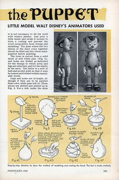 Pinocchio Puppet Making 2 by PuppetVision