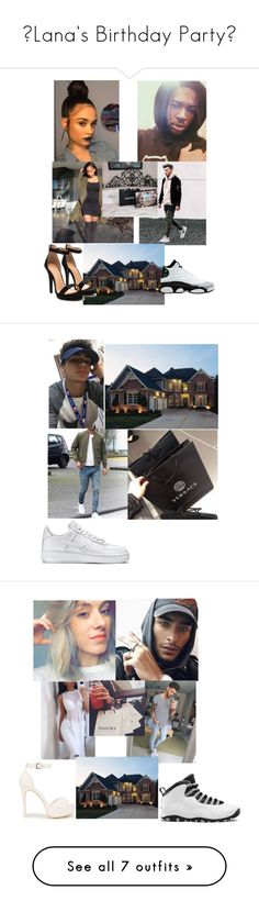 """""""🍻Lana's Birthday Party🍻"""" by geazybxtch24 ❤ liked on Polyvore featuring Home Source International, Retrò, NIKE, men's fashion, menswear, Nly Shoes and Chanel"""