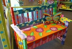 Funky Painted Furniture Ideas Boho Chairs 59 New Ideas Painted Benches, Hand Painted Chairs, Whimsical Painted Furniture, Hand Painted Furniture, Funky Furniture, Colorful Furniture, Art Furniture, Repurposed Furniture, Furniture Projects