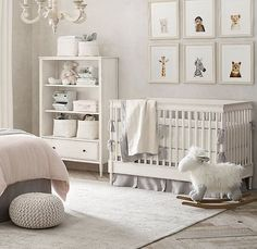 Best Baby Nursery Room Decor Ideas: 62 Adorable Photos 8 Gender-Neutral Nursery Decor Trends for Any Boy or Girl Baby Nursery Decor, Nursery Bedding, Nursery Boy, Baby Animal Nursery, Project Nursery, Babies Nursery, Baby Nursery Neutral, Cream Nursery, Baby Nursery Ideas For Girl