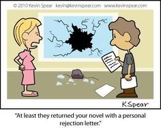 Writing Humour - A Personal Rejection Letter - Writers Write Creative Blog