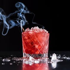 In this recipe from Jack Rose Dining Saloon in D.C., bourbon is stirred with blackberry preserves for the perfect sweet and smoky cocktail.