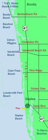 Barefoot Beach Florida Map.12 Best Best Beaches Naples Fl Images Holiday Destinations Bonita