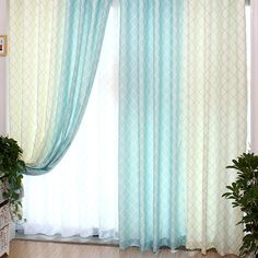 Refreshing Baby Blue Plaid Curtain With Poly/Cotton. Modern polyester and cotton blend fabric has good room darkening feature, has baby blue and white color. Plaid Curtains, White Curtains, Room Darkening, Cool Rooms, Blue Plaid, Baby Blue, Blue And White, Modern, Fabric