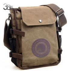 Cheap Men's Bags, Buy Quality Crossbody Bags directly from China Crossbody Bags Suppliers: Men Canvas Leisure Shoulder Bag Vintage Style Crossbody Bag Messenger Bags Bags Travel, Handbags For Men, Fashion Handbags, Fall Bags, Bags 2017, Canvas Shoulder Bag, Shoulder Bags, Canvas Backpack, Casual Bags