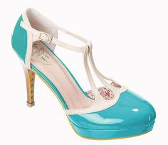 Dancing-Days-by-Banned-BETTY-Shiny-Pumps-Varnished-Shoes-50s-Rockabilly-Heels