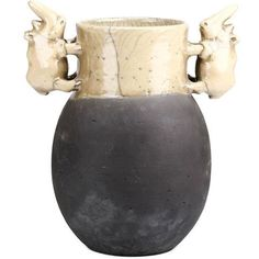Rhinocerous Vase