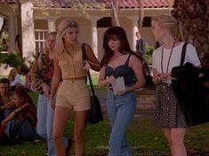 90210 Fashion, Fashion Tv, 2000s Fashion, Retro Fashion, Vintage Fashion, Fashion Outfits, Clueless Fashion, Retro Outfits, Vintage Outfits