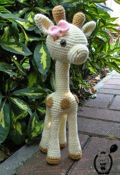 My Crochet Privacy ...: Żyrafka Goldie / Goldie the Giraffe