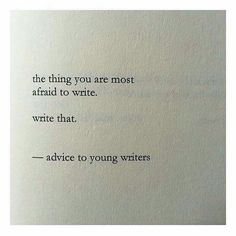 I'll write that and show no one-sb