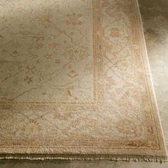 ethanallen.com - antique oushak rug, ivory/tan | ethan allen | furniture | interior design