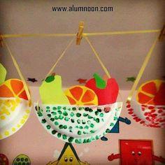 30 Ideas de Manualidades de Frutas y Verduras - Educación Preescolar - Alumno On #artsandcraftsclipart,