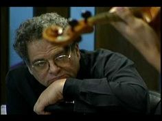 Itzak Perlman in Shanghai - Political peace and understanding through music